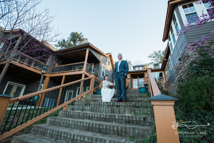 three pines view wedding