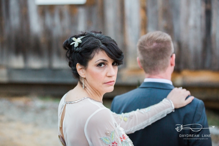 spring bride look